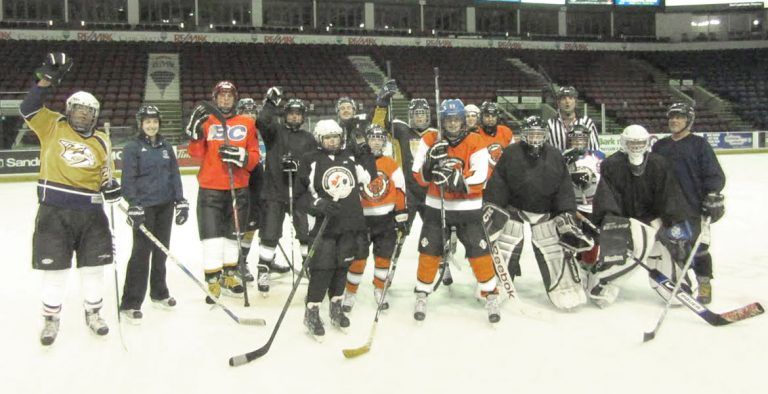 Kelowna WildCats Special Hockey Program