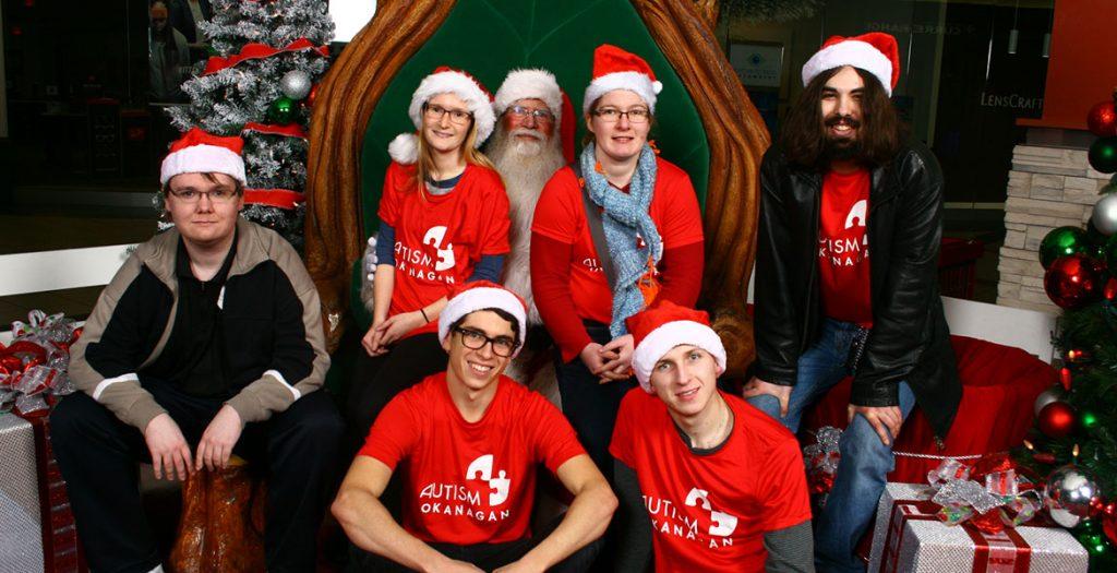 Sensitive Santa at Orchard Park Mall